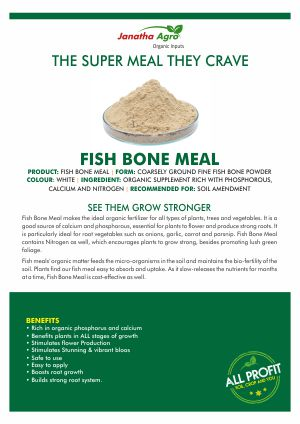 Janatha Fish Bone Meal