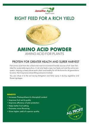 Janatha Fish amino acid Powder